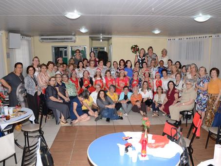 Reunião festiva encerra as atividades anuais do Departamento Feminino