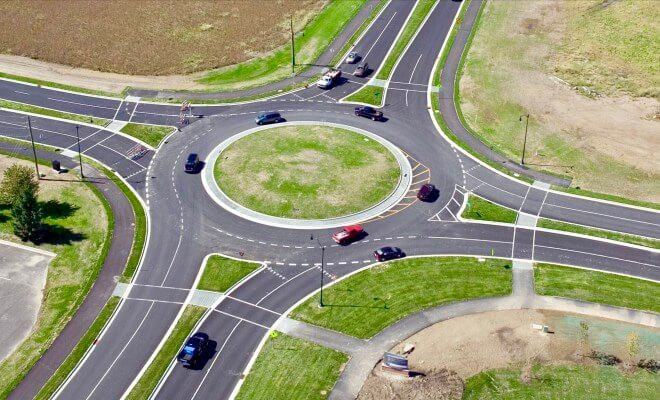 Marr Traffic Superior Data Collection Traffic Roundabout