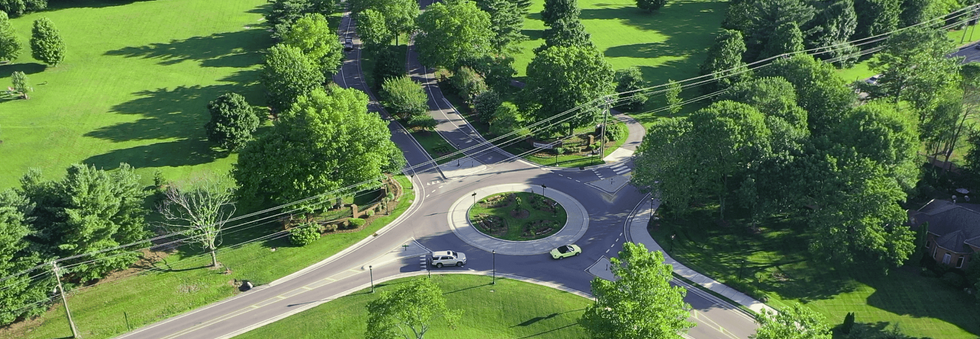 Drone Image - Roundabout