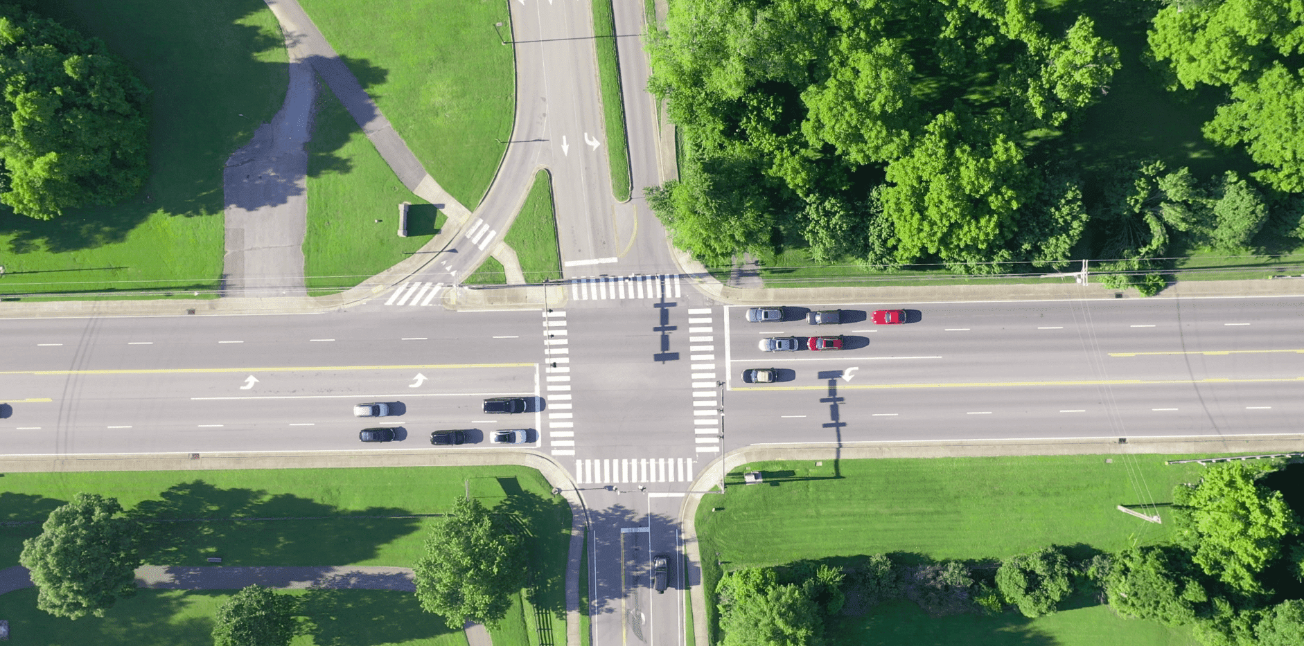 Drone Image - Intersection