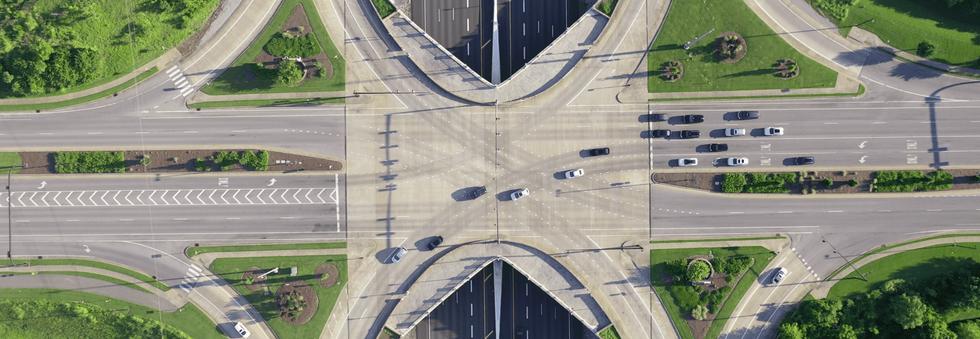 Drone Image - Freeway