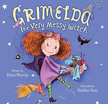 GRIMELDA THE VERY MESSY WITCH COVER