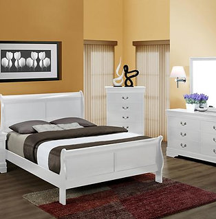 B3650 QUEEN SLEIGH BED