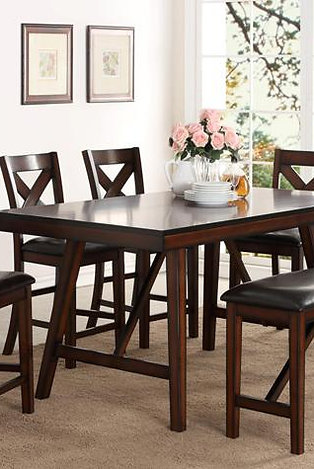 Vernon Counter Height 5 Piece Dinette Set