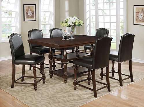 Langley Counter Height 5 Piece Dinette Set