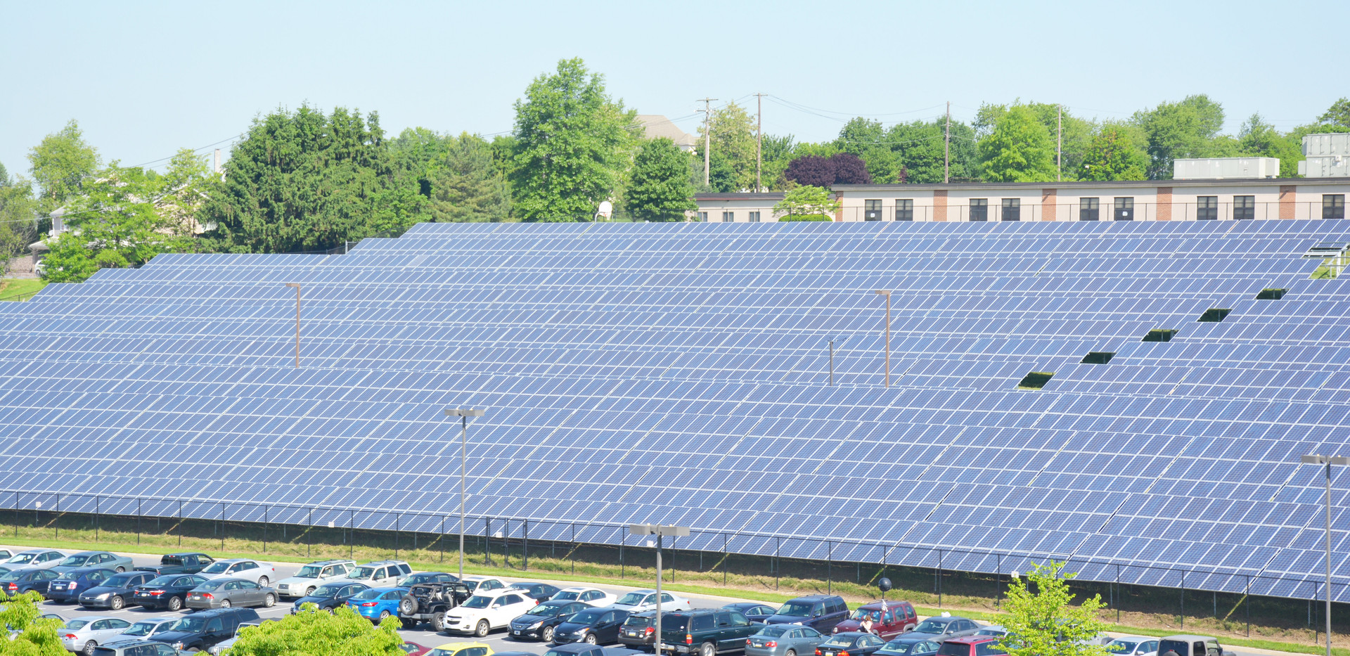Large Solar PV Array System