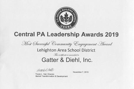 Central PA Leadership Award