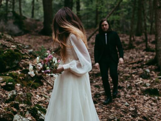 Vintage Inspired Woodland Wedding Styled Shoot