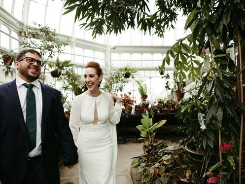 Western Mass Winter Wedding