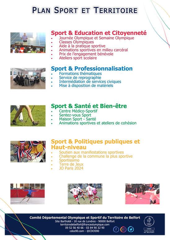 Plan Sportif Territorial