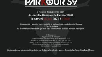 Assemblée générale Parkour59