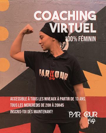 Coaching virtuel 100% féminin