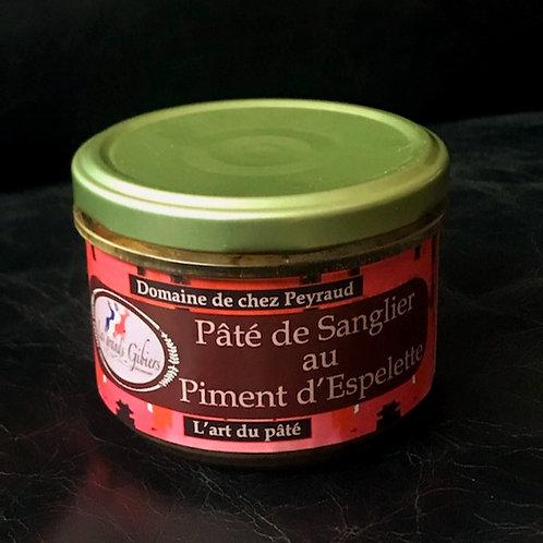 Pâté de Sanglier au Piment d'Espelette