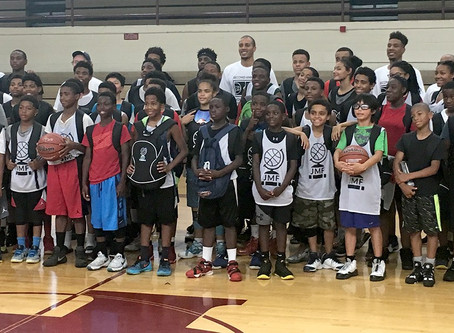 2nd Annual Jordan Morgan Foundation Basketball Camp A Success