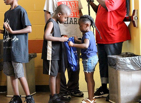 Jordan Morgan Foundation Provides Backpacks and Haircuts to Detroit Community