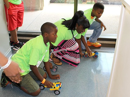 LAUNCH! STEM Students Construct Vehicles with Jordan Morgan