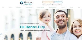 CK Dental City_Website Design by GMedia