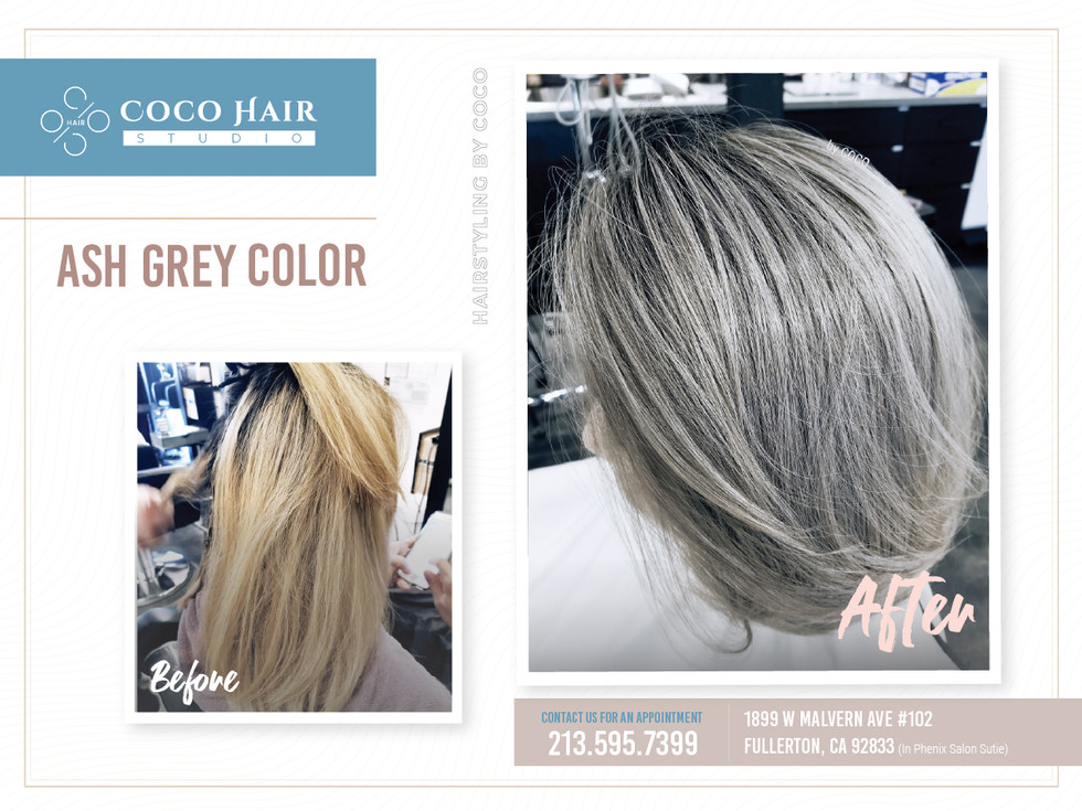 Before & After | Ash Grey 2