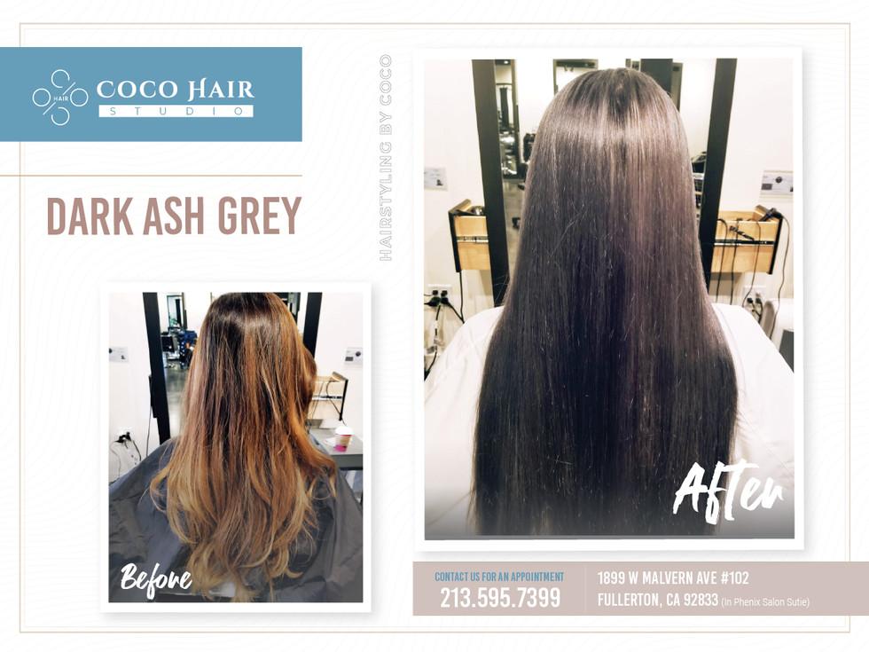 Before & After | Dark Ash Grey