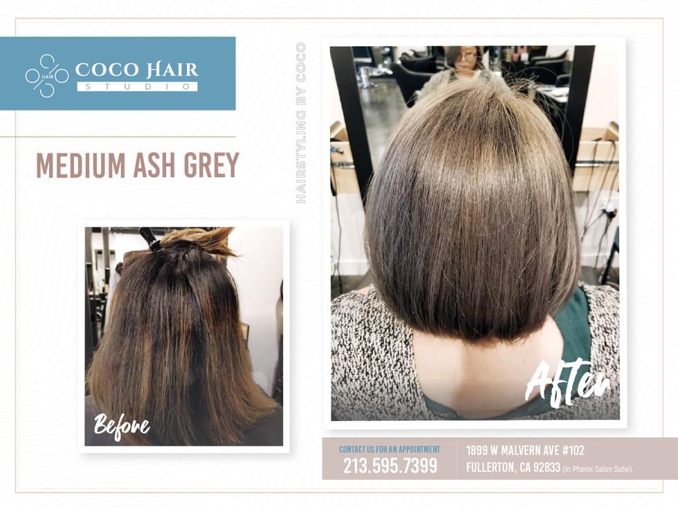 Before & After | Medium Ash Grey