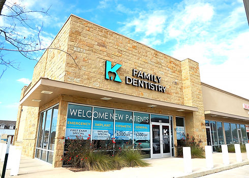 K Family Dentistry General Cosmetic Emergency Implants | Pflugerville, TX