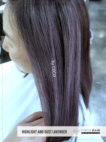 Highlights and Dust Lavender