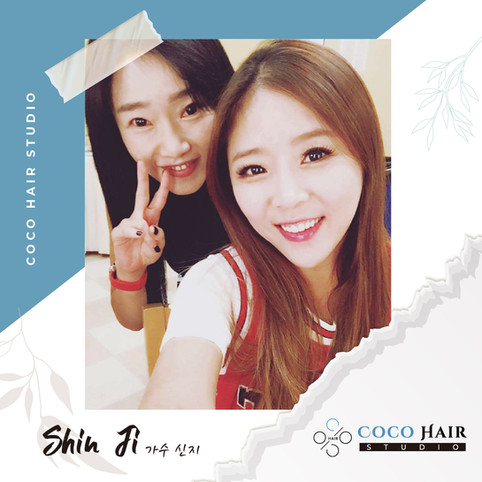 Coco hair studio_photo with 가수 신지 Shin-J