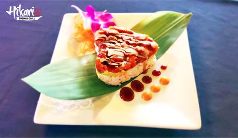 Hikari Sushi & Grill Japanese Restaurant_Valentines Day special_Mini Ahi Tower