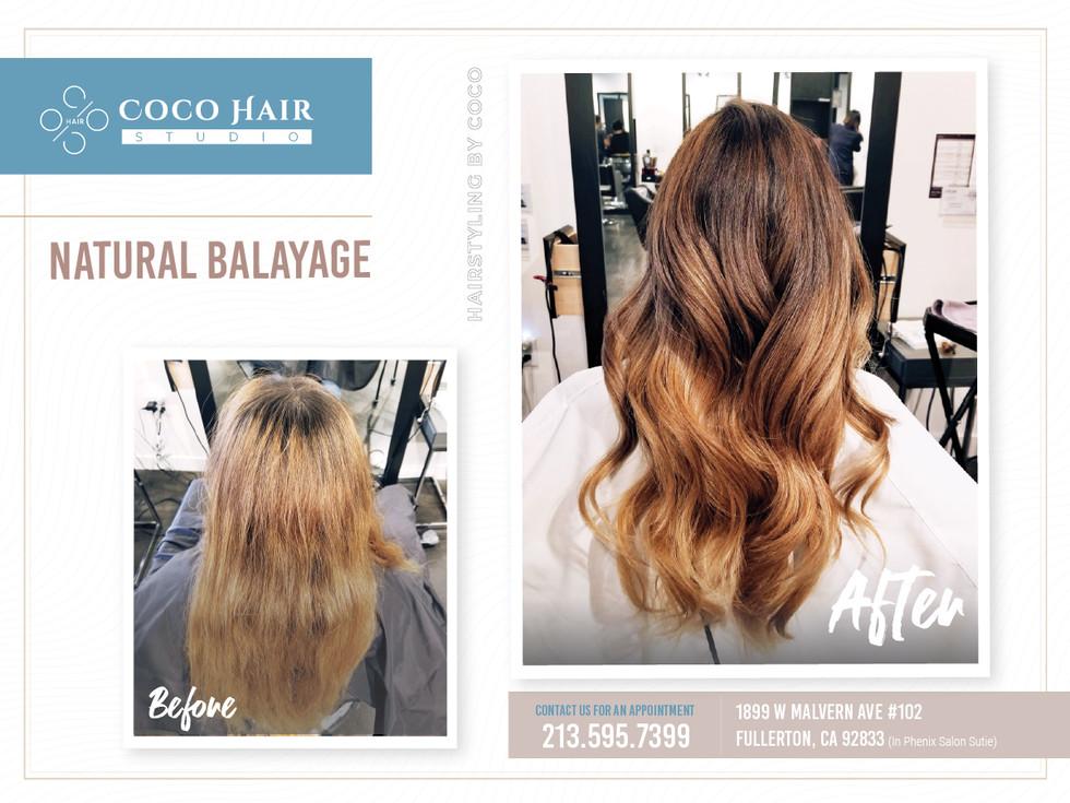 Before & After | Natural Balayage