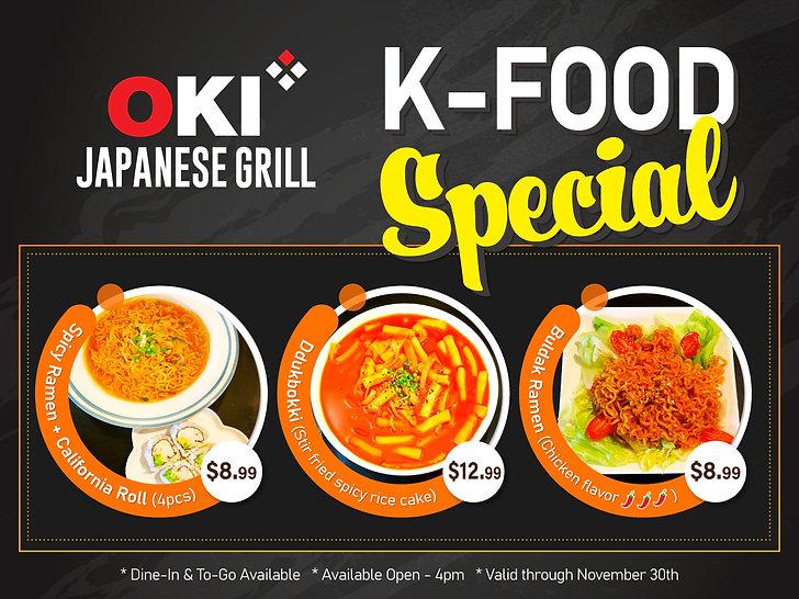 Oki Japanese Grill - Sushi & Hibachi_ K-