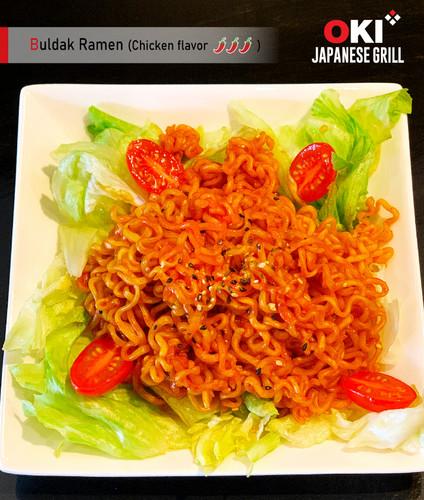 OKI Japanese Grill_Food menu_Buldak Rame