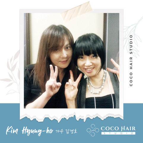 Coco hair studio_photo with 가수 김경호 Kim H