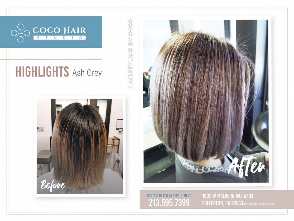 Before & After | Highlights Ash Grey1