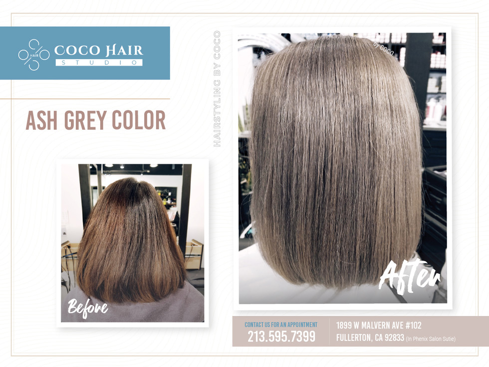 Before & After | Ash Grey