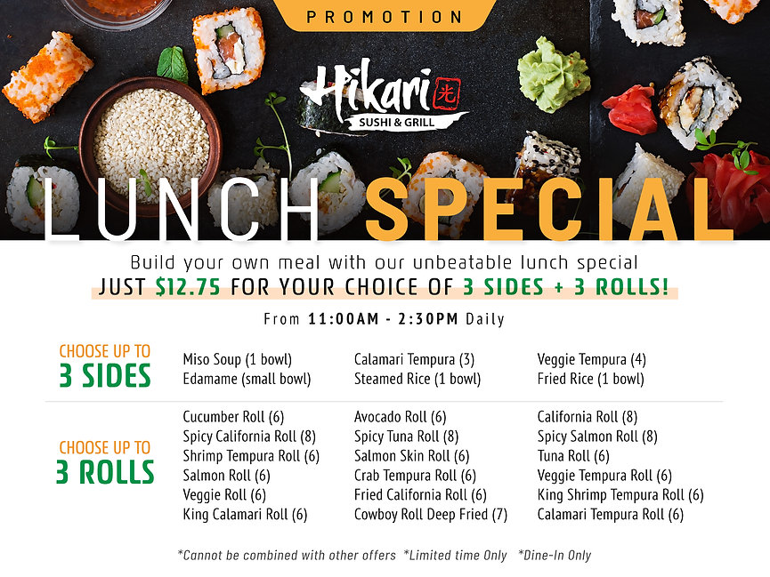 Hikari Sushi_Promotions_Lunch Special_Ap