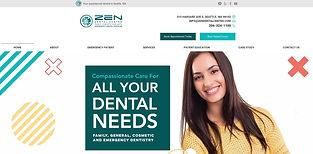 Zen Dental_Website Design by GMedia Mark