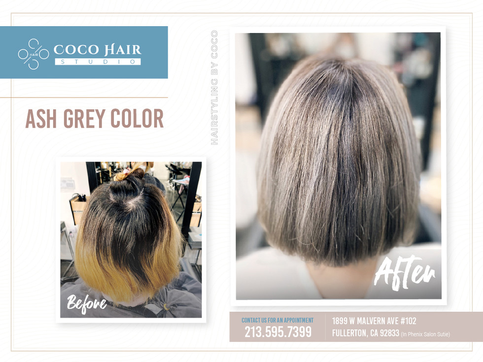 Before & After | Ash Grey 4
