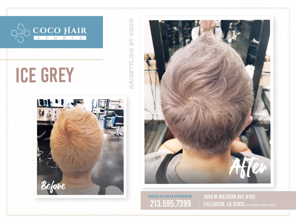 Before & After | Ice Grey
