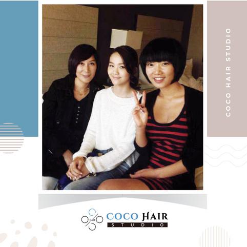 Coco hair studio_photo with 국악소녀 송소희.jpg