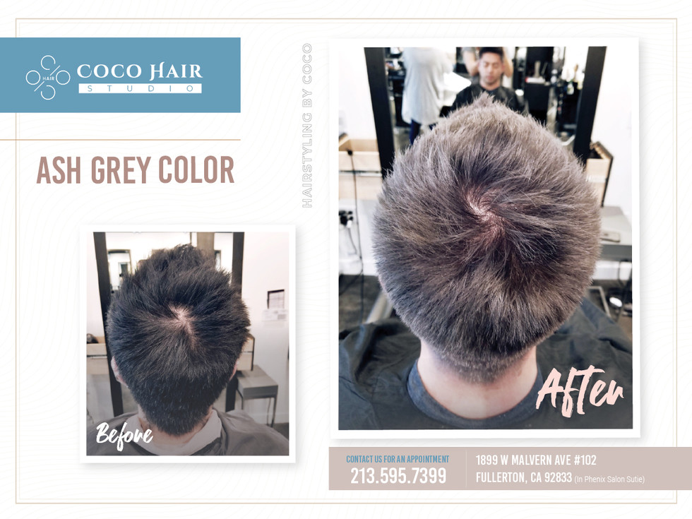 Before & After | Ash Grey 3