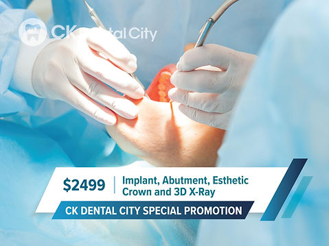 CK Family Dentistry General Cosmetic Emergency Implants | McKinney TX | CK Dental