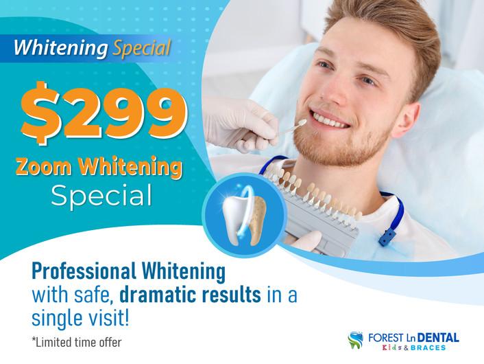 Forest Lane Dental_Whitening Special_$29