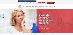 Emergency Dentist of Portland_Website De