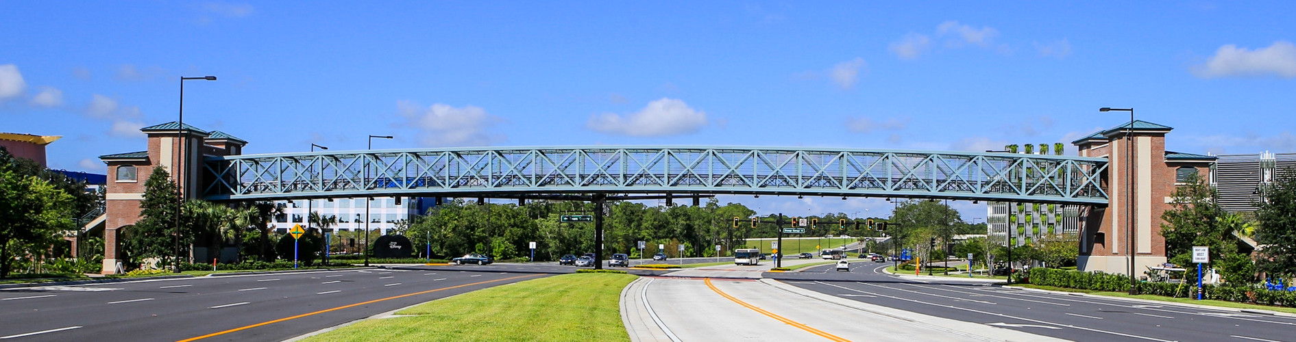 Pedestrian Bridge over Buena Vista Drive