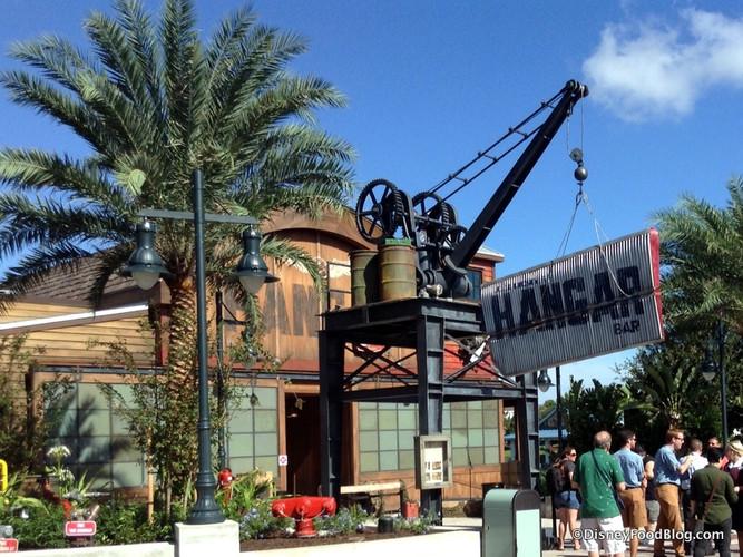 Hanger Bar Signage and Rigging
