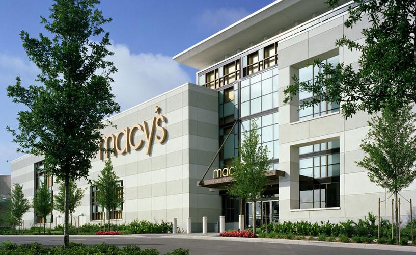 Macy's Mall of Millenia - All exterior light gauge