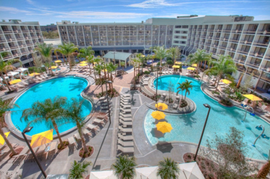 Sheraton - Lake Buena Vista pools and restaurants