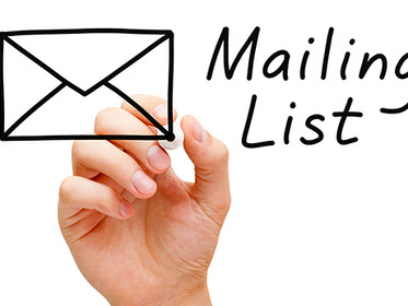 Build Your Email Lists Rather Than Buy