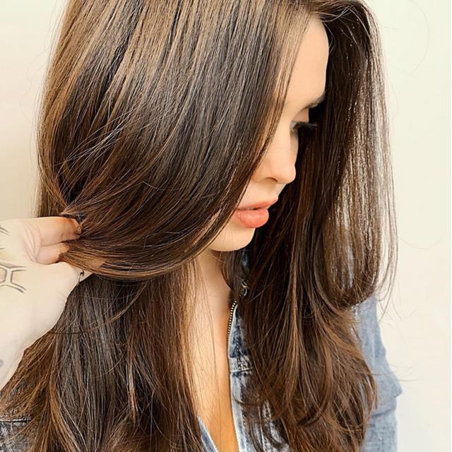 brunette balayage, hair salon mount pleasant, SC