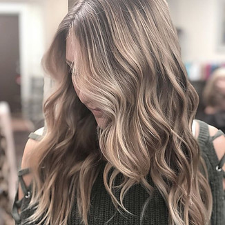 blonde balayage highlights hair salon Charleston, SC